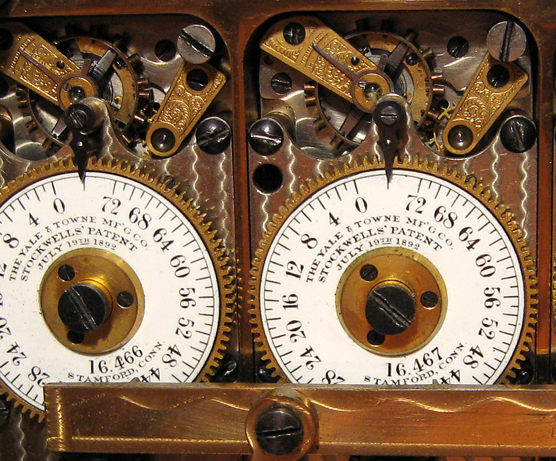 Yale Type L time lock movement
